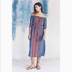Madewell Embroidered Mercado Dress